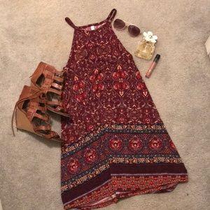 Pretty patterned dress